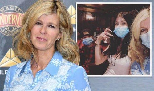 Kate Garraway 'unnerved' during 'strange' first night out since husband Derek hospitalised
