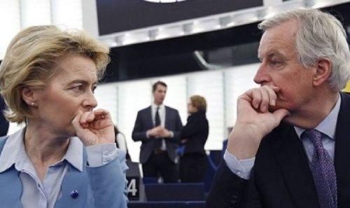 'Sore losers!' Von der Leyen and Barnier blasted over relentless threats to Brexit Britain