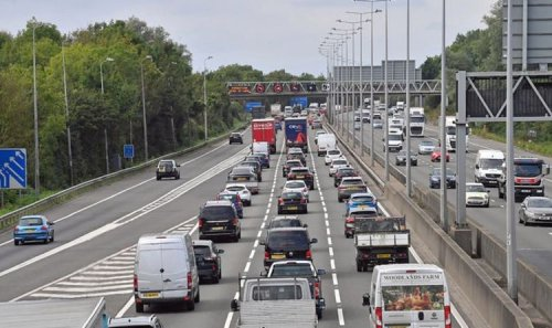 M1 traffic: 10 miles of queues on motorway after serious crash