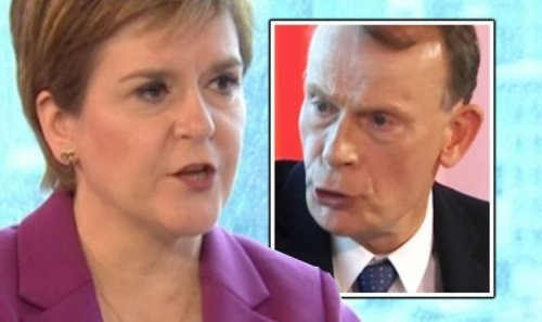 BBC's Andrew Marr wrecks Nicola Sturgeon's independence plans - 'It would be game over!'