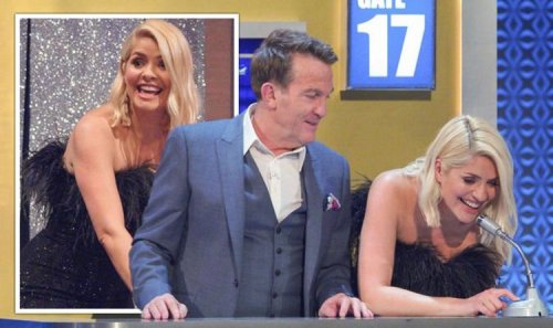 'Wet herself!' Holly Willoughby in hysterics over Bradley Walsh innuendo