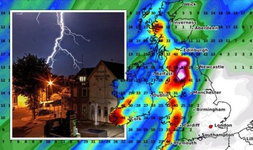 UK weather warning: Brutal Icelandic storm to unleash torrential downpour on Britain- maps