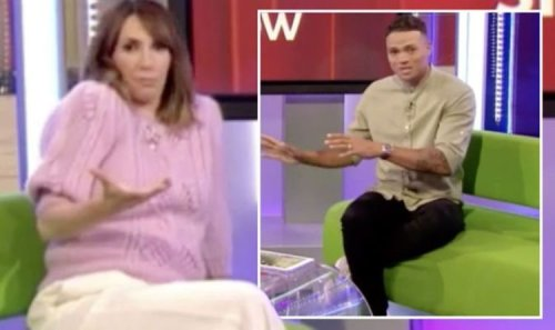 Alex Jones shut down by The One Show's Jermaine Jenas after ITV swipe 'Leave that there!'