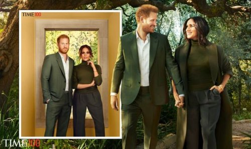 'Britons can see right through it!' Meghan and Harry called out for 'strategic' photoshoot