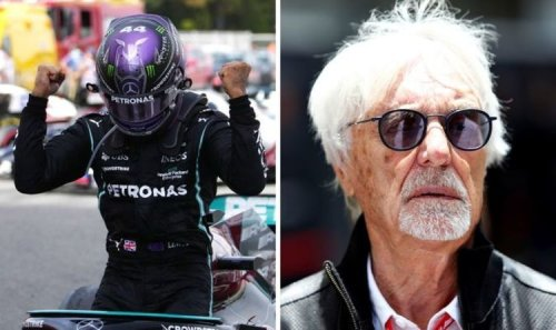 Lewis Hamilton has two advantages over Max Verstappen in F1 glory bid - Bernie Ecclestone