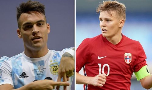 Arsenal's amazing new XI with Lautaro Martinez, Martin Odegaard and two other signings
