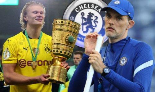 Thomas Tuchel has problem with three stars if Chelsea seal £150m Erling Haaland transfer