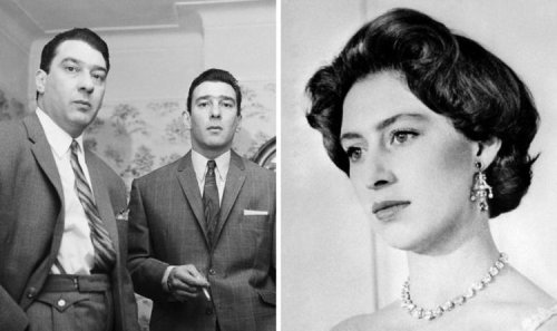 Royal outrage: Kray Twins 'annoyed' at Princess Margaret after bar snub
