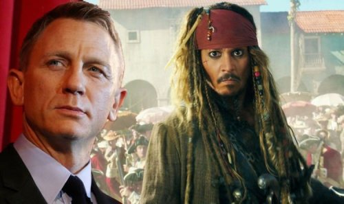 Pirates of the Caribbean: Johnny Depp almost with another James Bond star