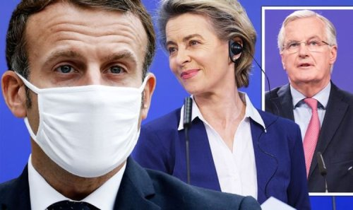 Emmanuel Macron at war with EU over ECJ decision on French military - Even Barnier furious