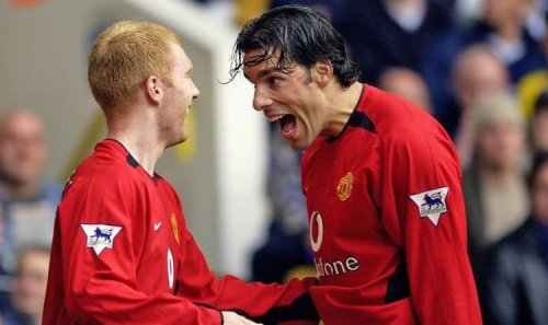 Manchester United have another Ruud van Nistelrooy at the club - Paul Scholes