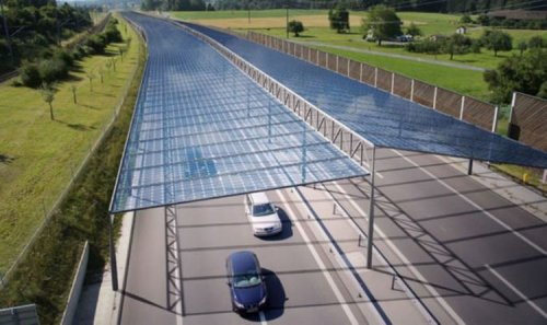 Motorways could receive £1.5billion upgrade to install solar panels after European trials