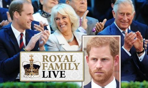 Royal Family LIVE: Look away, Harry! Embarrassment as Duke axed from Wills birthday photo