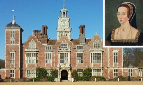 The Norfolk estate where Anne Boleyn's headless ghost is said to haunt