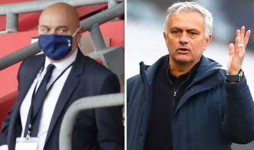 Tottenham chief Daniel Levy 'accepts' one Jose Mourinho transfer demand