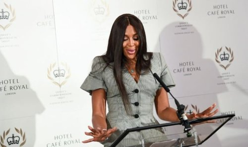 Naomi Campbell 'honoured' to play special 'grown-up role' during Queen's Platinum Jubilee