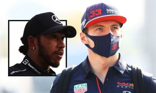 Lewis Hamilton told to 'get a new pair of underpants' as Max Verstappen battle heats up