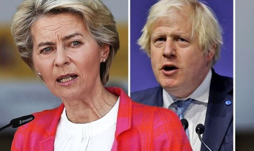 Bitter EU throws toys out pram over Article 16 – bloc 'holds up' UK place on £81bn scheme