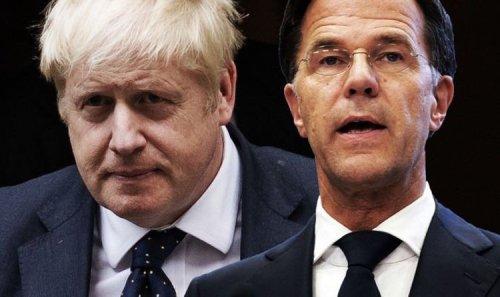 Dutch newspaper mocks 'Brexit f*** up' with outrageous Boris Johnson cartoon