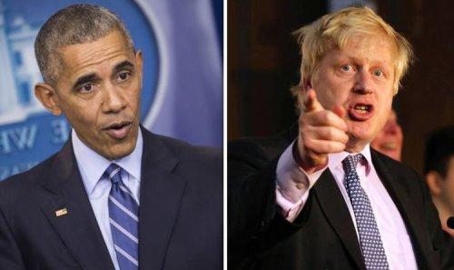Barack Obama thanked for Brexit referendum victory: 'Boris scoffed at him!'