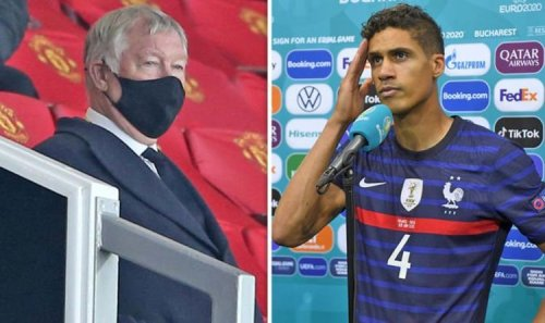 Manchester United legend Sir Alex Ferguson's angry comments about Raphael Varane