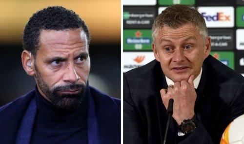 Rio Ferdinand agrees with Man Utd transfer priority to help Ole Gunnar Solskjaer question