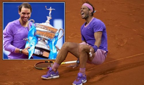 Rafael Nadal wins Barcelona Open for 12th time after incredible Stefanos Tsitsipas battle