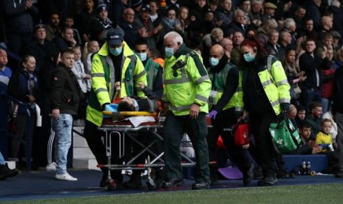 West Brom game delayed twice due to 'medical emergencies' with supporter stretchered away