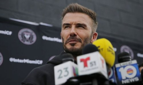 Man Utd legend's son leaves Old Trafford to link up with David Beckham's Inter Miami