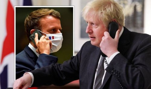Boris and Macron thrash out submarine row in crisis call after France sends bill over deal