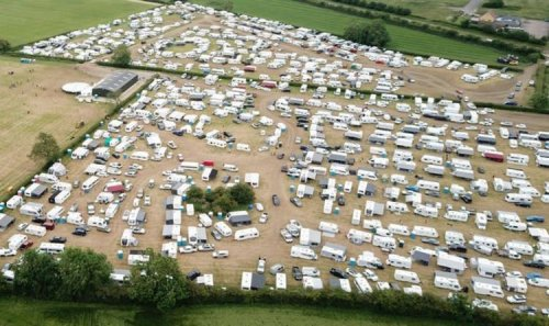 Fury as travellers cause chaos at religious festival 'looting, fighting and drag racing'