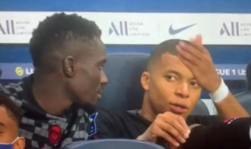 Kylian Mbappe caught on camera calling Neymar a 'tramp' during explosive outburst