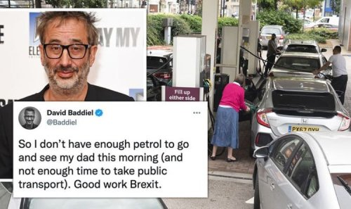 'What a clusterf**k!' Remainer David Baddiel in furious Brexit rant