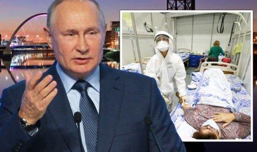 Putin to send over 200 delegates to UK for Cop26 despite Russia's record Covid surge