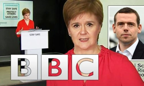Nicola Sturgeon's COVID briefings helped spark 600 percent surge in BBC complaints