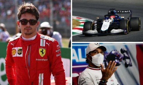 Charles Leclerc sends message to George Russell ahead of Lewis Hamilton duel