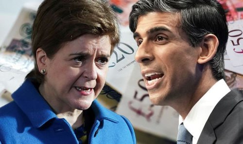 Take that, Nicola! Rishi Sunak unveils £150m package to obliterate Indyref2 calls