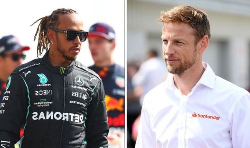 Jenson Button aimed fire at 'weird' Lewis Hamilton's antics: 'He's completely changed'