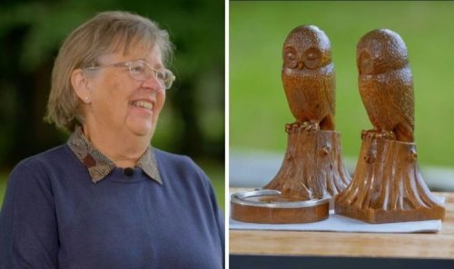 Antiques Roadshow guest blown away by valuation of 1930s wooden owl collection