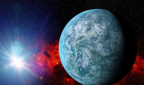 Space breakthrough as exoplanet discovery 'similar' to Earth covered in ocean