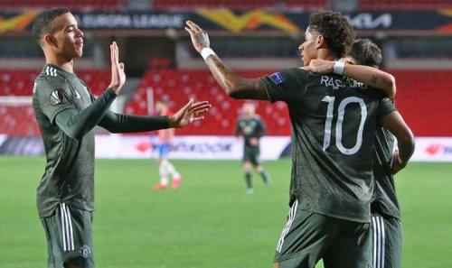Man Utd star Rashford has shamed Van Persie, Lukaku and Ibrahimovic after Granada win