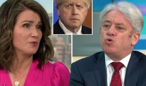 Bring back Piers!' GMB fans furious as Bercow's Boris 'puppy dog' jibe humiliates Susanna