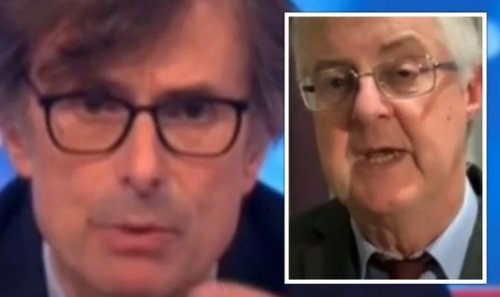 'They're not very effective!' Peston puts Drakeford on the spot over Wales' Covid rules