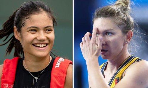 Emma Raducanu could face idol and Romania hero Simona Halep at Transylvania Open