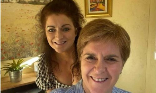Eat your words! Sturgeon's sister defends flouting Covid rules to scoff sandwich