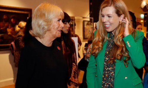 Camilla's cheeky remark to pregnant Carrie Johnson: 'How's this coming along?'