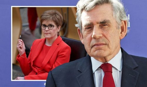 Sturgeon's worst nightmare: Gordon Brown to 'knock SNP out of ring' and derail Indy dream