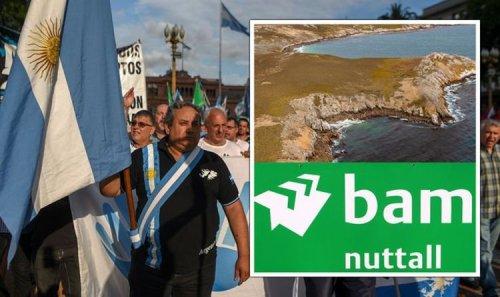 Plundering OUR land! Falklands fury as Argentina erupts at 'criminal and illegitimate' UK