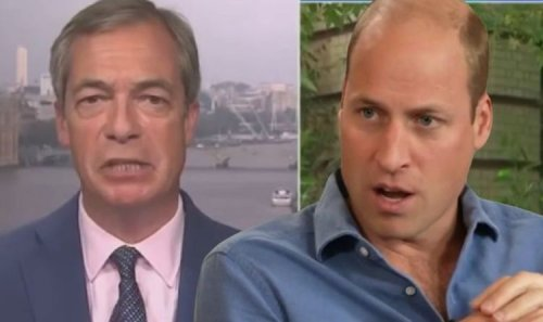 William 'spent too much time with Charles' Farage warns as Duke delves into politics