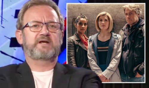 Dr Who star felt 'stabbed in back' after 'cancel culture cowards erased him' from role